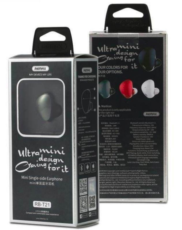 Remax RB-T21 True Wireless Earphones – REMAX Mobile Accessories